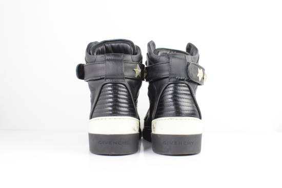 Givenchy Givenchy Black Leather High Tops Size 41 Size US 8 / EU 41 - 4