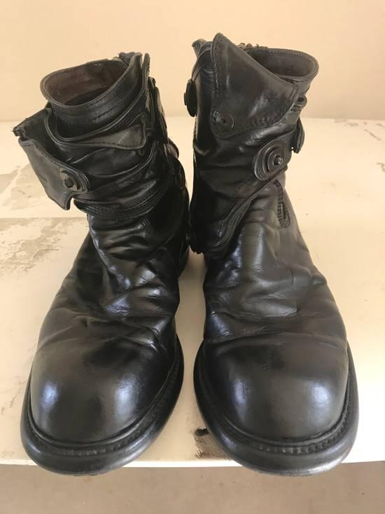 Julius AW12 gas mask removable gun holster boots Size US 9.5 / EU 42-43