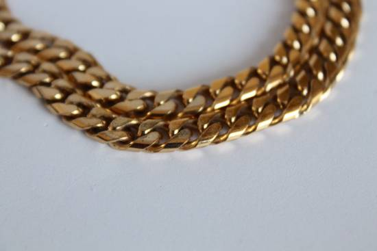 Givenchy Gold Plated Cuban-Link Necklace Size ONE SIZE - 2