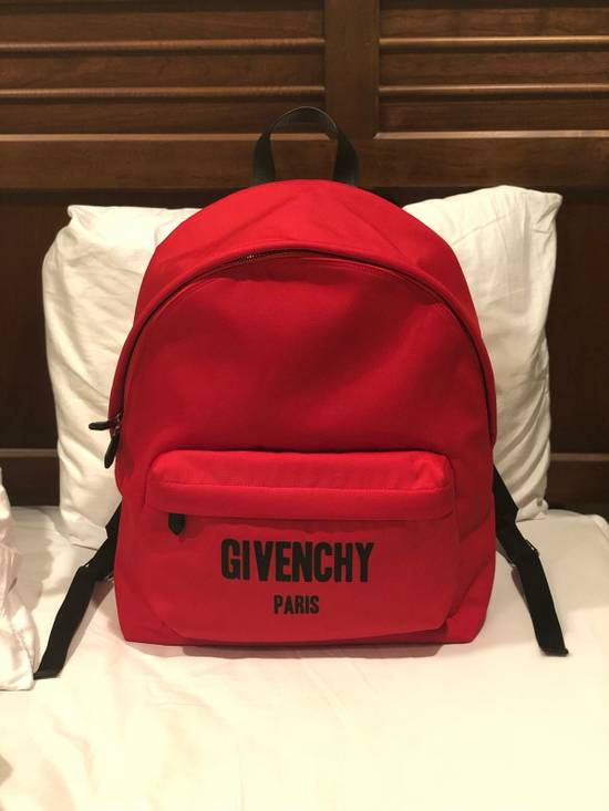 Givenchy Red Givenchy Backpack LIMITED EDITION Size ONE SIZE