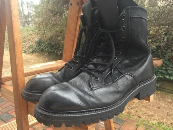 Julius SS17 Backzip Combat Boots Size US 9 / EU 42