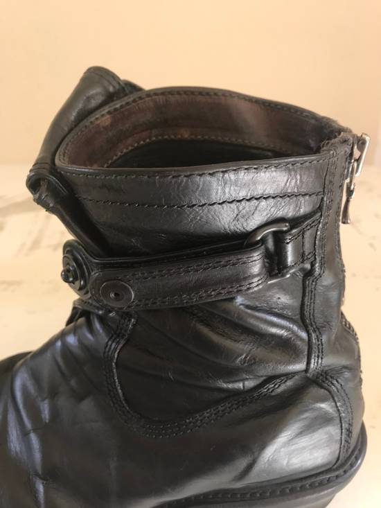 Julius AW12 gas mask removable gun holster boots Size US 9.5 / EU 42-43 - 18