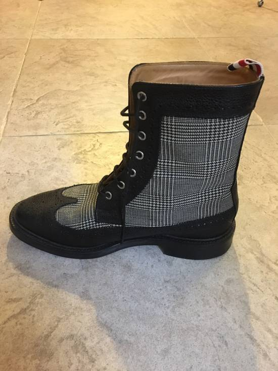 Thom Browne Prince Of Wales Check Boots Size US 7 / EU 40 - 5
