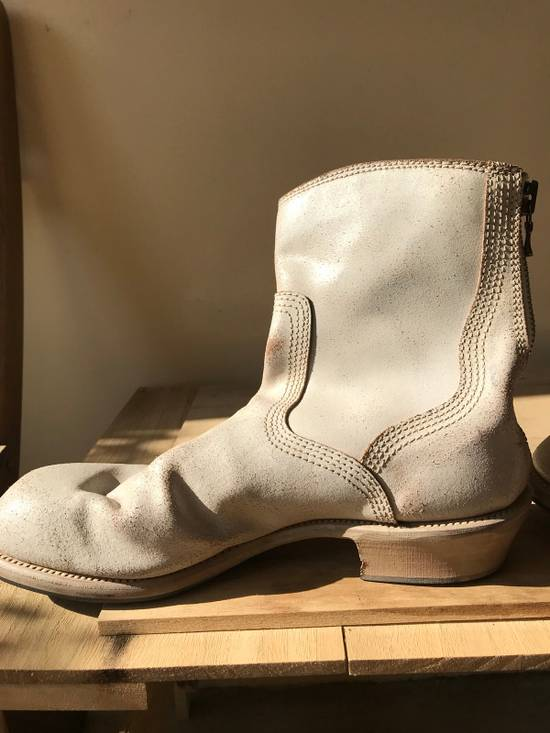 Julius SS11 cracked leather engineer boots Size US 11 / EU 44 - 1