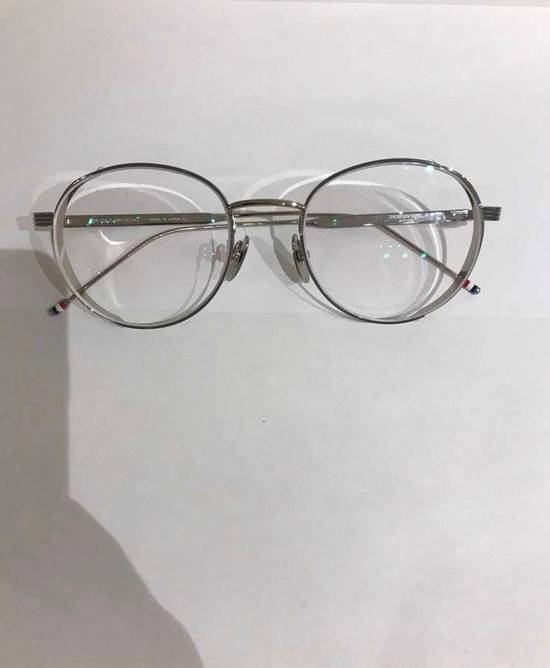 Thom Browne Silver Glasses Size ONE SIZE - 4