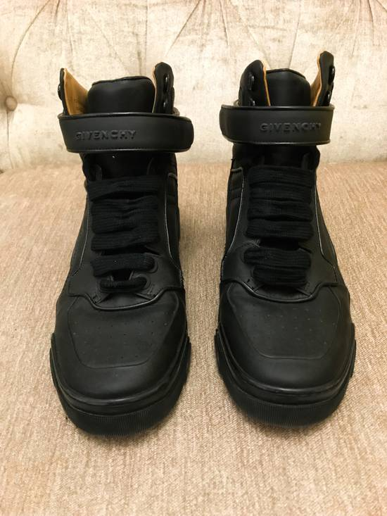 Givenchy High-Top Gold-Strap Sneaker Size US 7 / EU 40 - 2