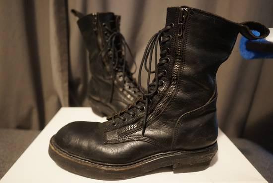 Julius Julius SS11 Double Zip Combat Boots Size US 10.5 / EU 43-44 - 5