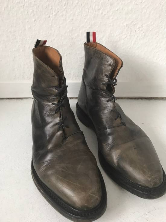 Thom Browne LIMITED THOM BROWNE Distressed Boots, Size 45 Grey Size US 10.5 / EU 43-44 - 7