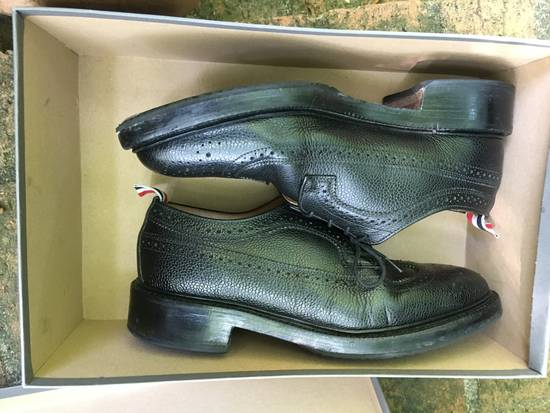Thom Browne Pebble Grain Longwing Brogues - us 9 Size US 9 / EU 42 - 2