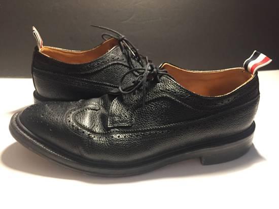 Thom Browne LAST DROP Thom Browne Pebble-Grain Leather Longwing Brogues Size US 11 / EU 44 - 2