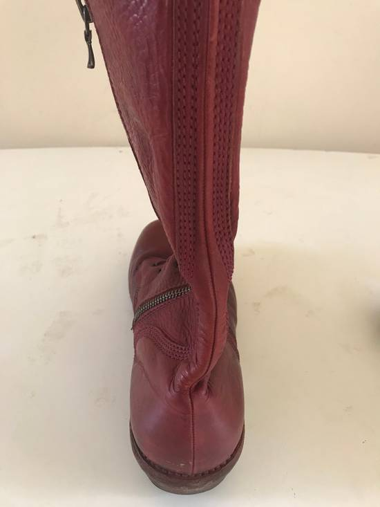 Julius AW09 blood high cut side zips boots Size US 10 / EU 43 - 19