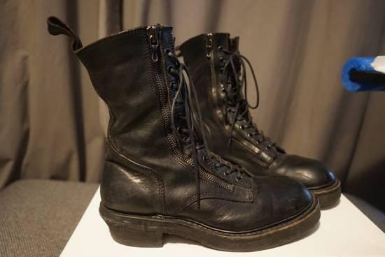 Julius Julius SS11 Double Zip Combat Boots Size US 10.5 / EU 43-44 - 2
