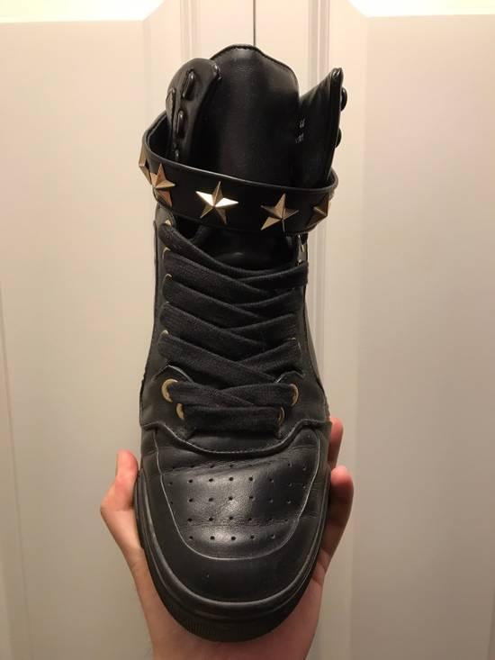 Givenchy Tyson Star Sneaker Black Gold Star Size US 11 / EU 44 - 7