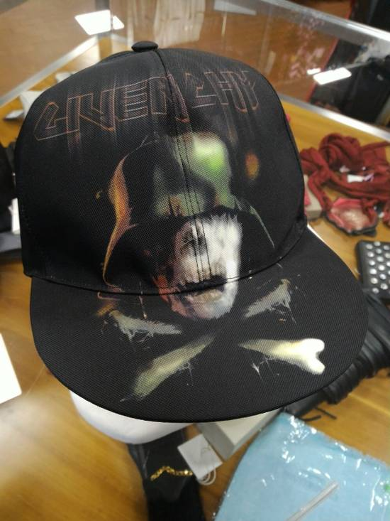 Givenchy Multi Color Printed Snapback Size ONE SIZE - 6
