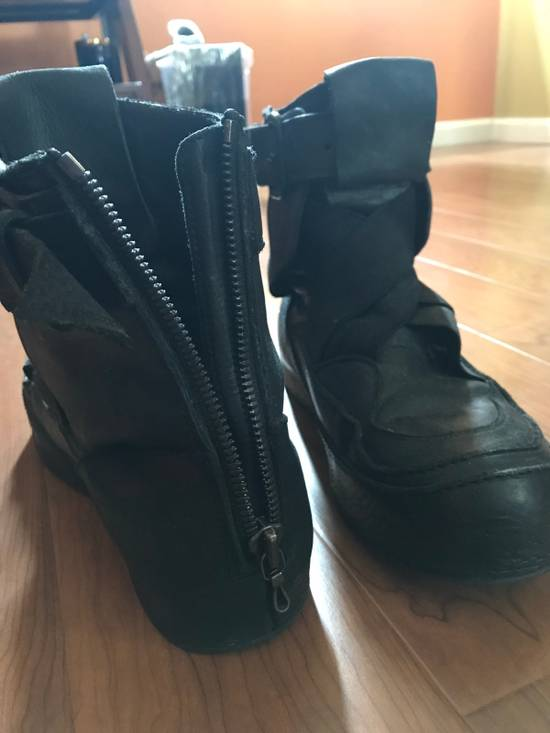 Julius 2014S/S Strapped Leather Sneakers Size US 9 / EU 42 - 1