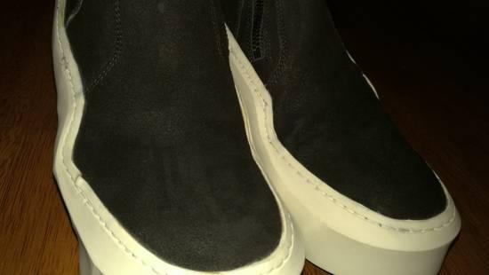 Julius HI Top Goat Nubuck Coated Polygon Platform Sneakers Size US 11 / EU 44 - 9