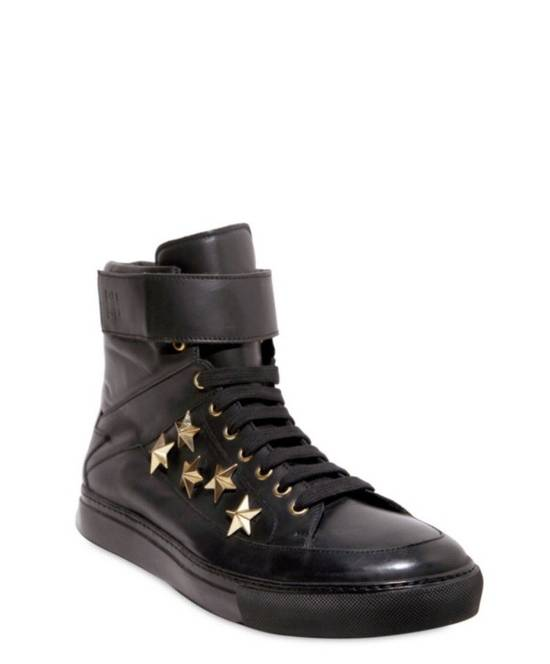 Givenchy $850 Givenchy Stars Studded High Top Sneakers Size US 8 / EU 41