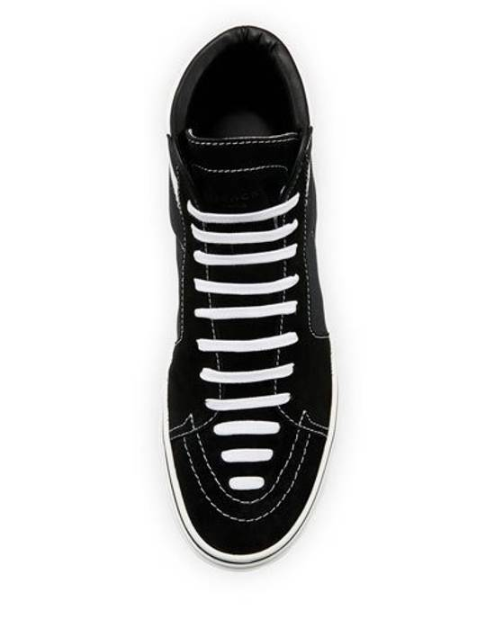 Givenchy Givenchy George Canvas Hightop Size US 12 / EU 45 - 6