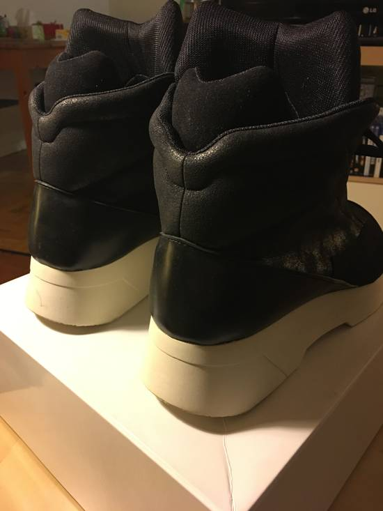 Julius Hi-Top Sneakers - Black/White - Size 4 Size US 11.5 / EU 44-45 - 2
