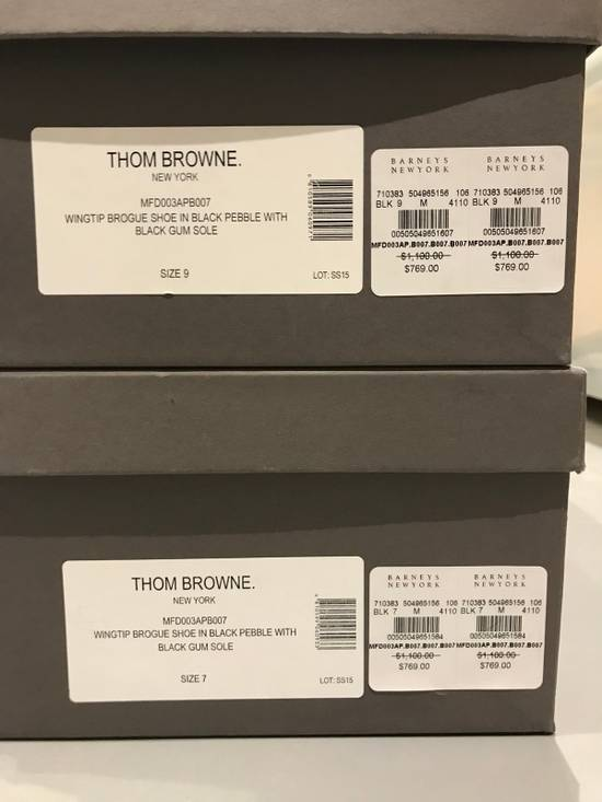 Thom Browne Classic Brogues with Gum Sole in Pebble Grain Size US 7 / EU 40 - 9