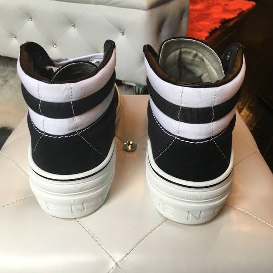 Givenchy Givenchy George Canvas Hightop Size US 12 / EU 45 - 2