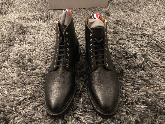 Thom Browne Black Leather Boots Brand New Size Us10 Size US 10 / EU 43 - 2