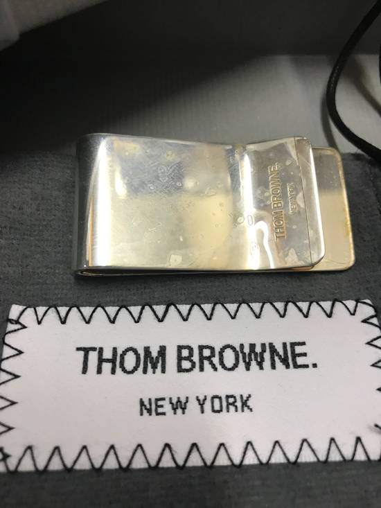 Thom Browne Sterling Silver Money Clip Size ONE SIZE - 2