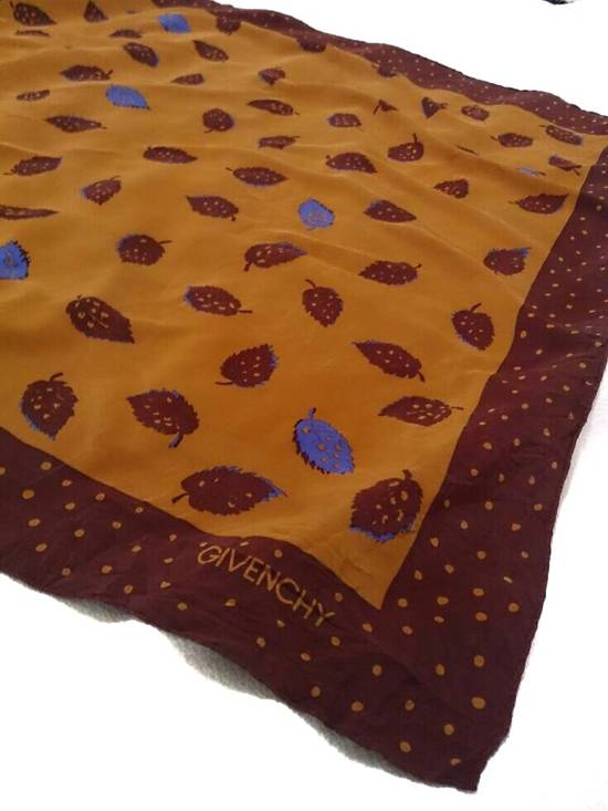 Givenchy (LAST CALL BEFORE DELETED) -GIVENCHY SILK SCARF / BANDANA RARE DESIGN Size ONE SIZE - 3