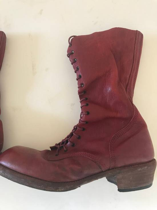 Julius AW09 blood high cut side zips boots Size US 10 / EU 43 - 13