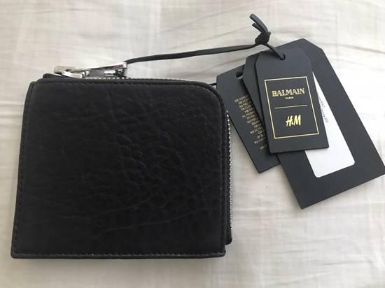 Balmain Leather Wallet Size ONE SIZE