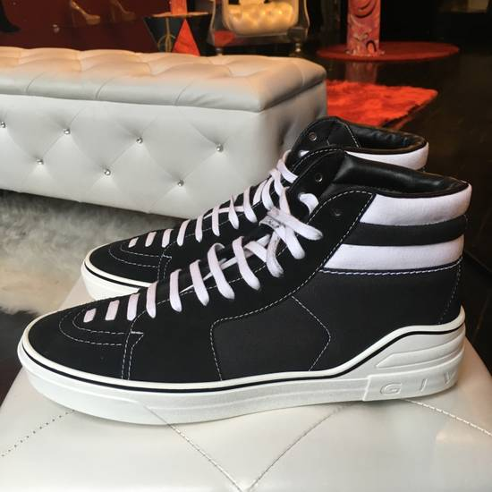 Givenchy Givenchy George Canvas Hightop Size US 12 / EU 45 - 3