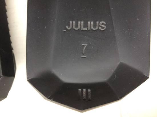 Julius Black Leather Slide Sandals Size US 8 / EU 41 - 7