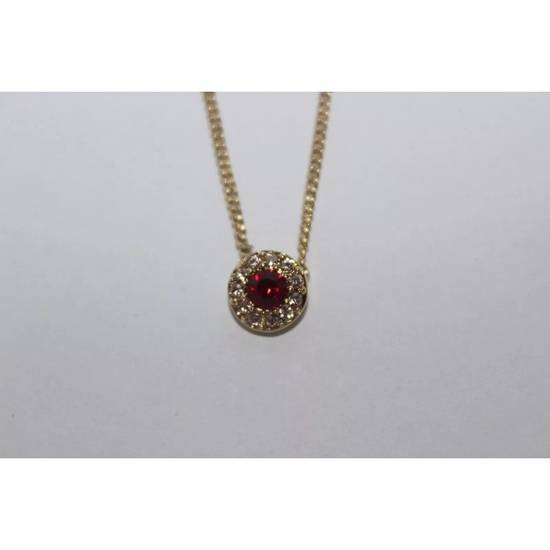 Givenchy Red Crystal Necklace Size ONE SIZE - 2