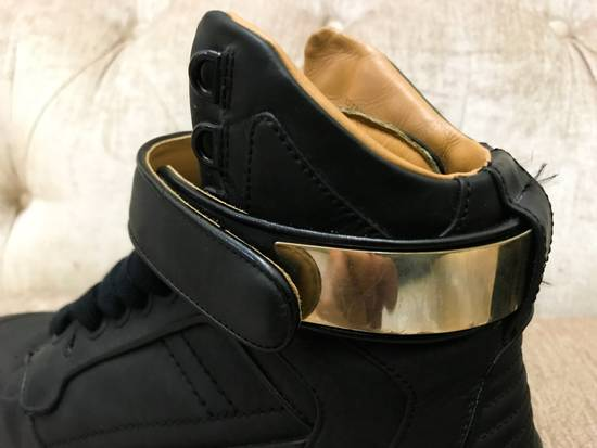 Givenchy High-Top Gold-Strap Sneaker Size US 7 / EU 40 - 6