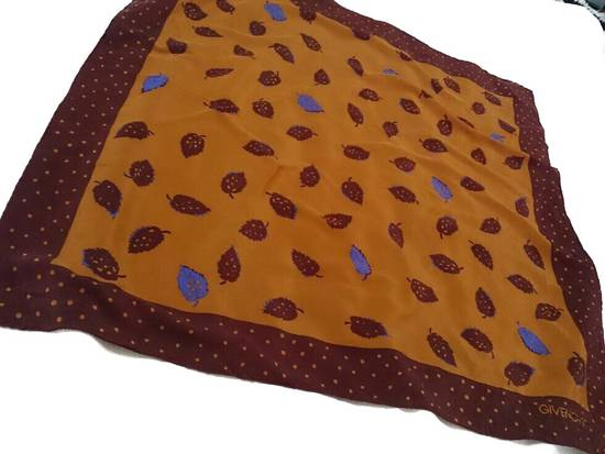 Givenchy (LAST CALL BEFORE DELETED) -GIVENCHY SILK SCARF / BANDANA RARE DESIGN Size ONE SIZE - 1