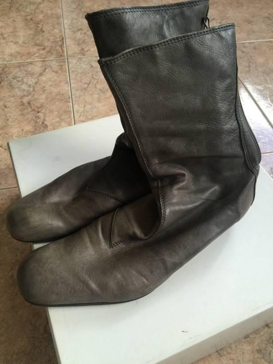 Julius AW10 grey slim boots Size US 10 / EU 43 - 5