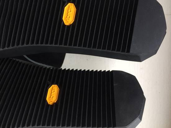 Julius Black Leather Slide Sandals Size US 8 / EU 41 - 5
