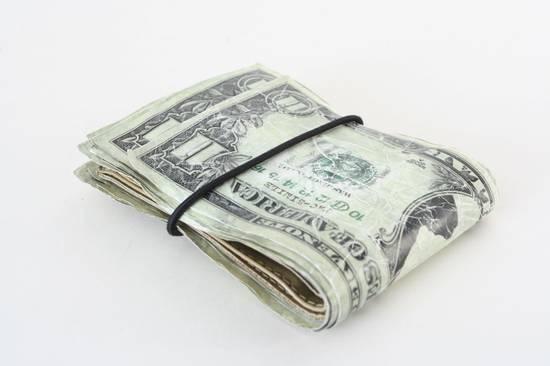 Maison Margiela rare MAISON MARTIN MARGIELA $11 dollar bill elastic band bifold leather wallet Size ONE SIZE - 4