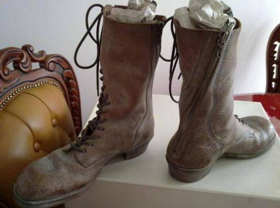 Julius New runway rare spiral boots Size US 8.5 / EU 41-42 - 2