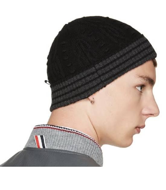 Thom Browne Cashmere Cable Knit Beanie Size ONE SIZE