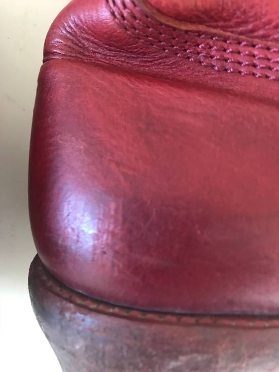 Julius AW09 blood high cut side zips boots Size US 10 / EU 43 - 10