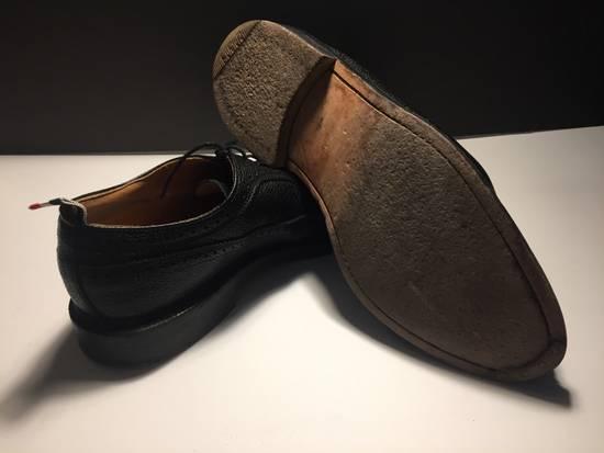 Thom Browne LAST DROP Thom Browne Pebble-Grain Leather Longwing Brogues Size US 11 / EU 44 - 6