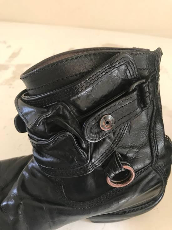 Julius AW12 gas mask removable gun holster boots Size US 9.5 / EU 42-43 - 10