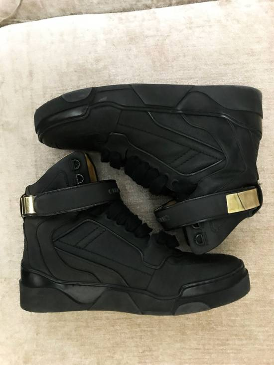 Givenchy High-Top Gold-Strap Sneaker Size US 7 / EU 40 - 4