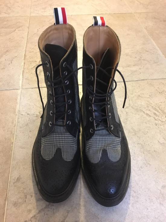 Thom Browne Prince Of Wales Check Boots Size US 7 / EU 40 - 1