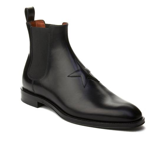 Givenchy Givenchy Men's Leather Star Patch Chelsea Boot Shoes Black Size 41 Size US 8 / EU 41