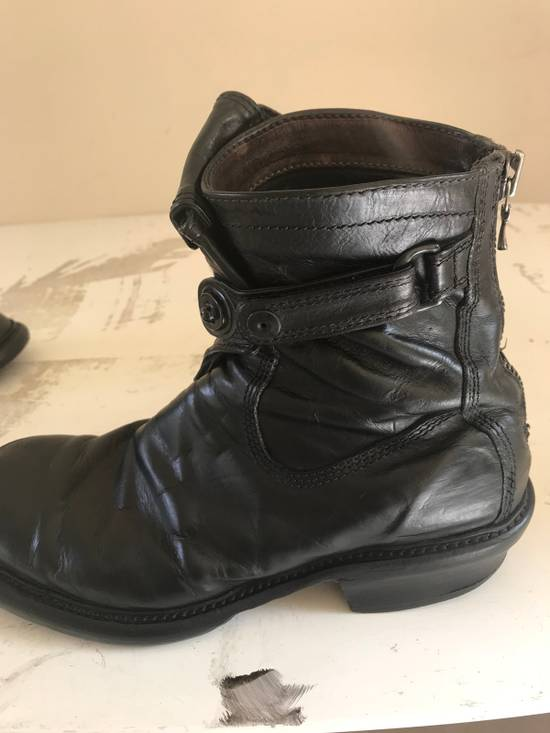 Julius AW12 gas mask removable gun holster boots Size US 9.5 / EU 42-43 - 17