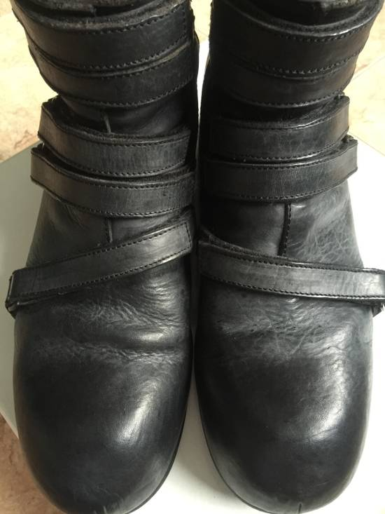 Julius AW 13 platform boots with straps Size US 10 / EU 43 - 8