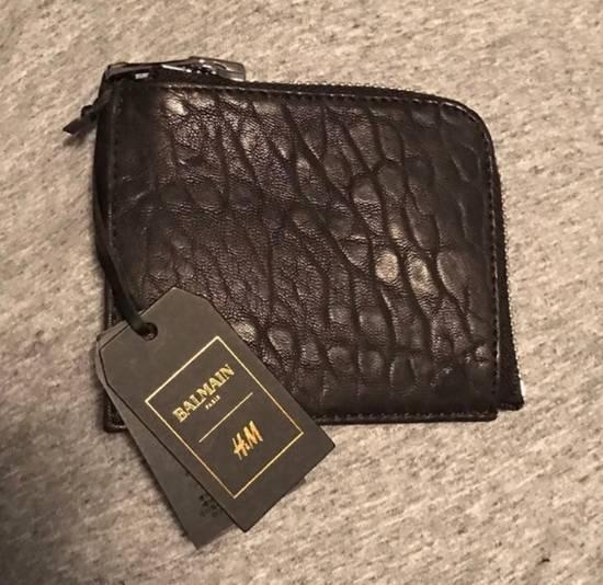 Balmain Balmain For H&M Leather Wallet Size ONE SIZE