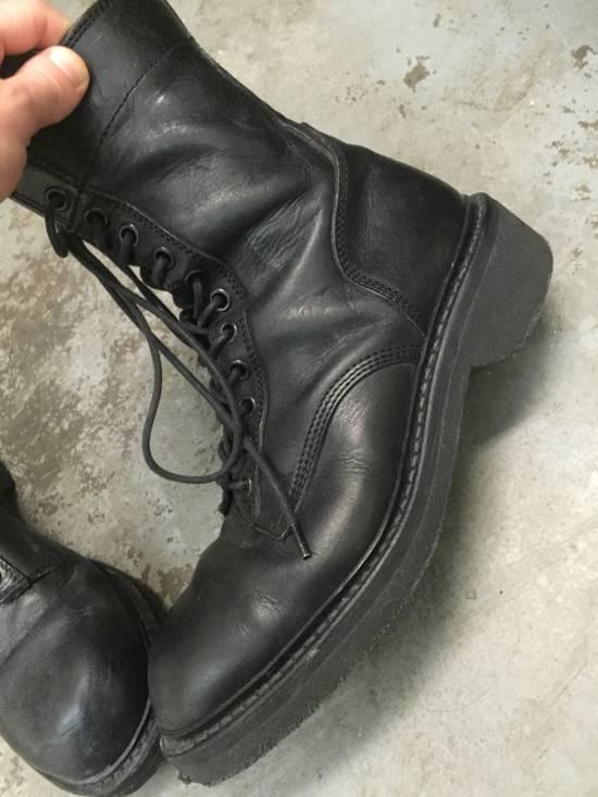 Julius 11-Hole Sidezip Combat Boots Size US 9 / EU 42 - 8